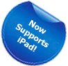 New! Now Supports iPad!